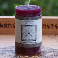 BEWITCHING Spell Candle by Witchcrafts Artisan Alchemy - Enchantment, Influencing Others, Keep Love Alive. Attraction - Choose Candle Size