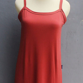 Caftan Maxi Inner Dress suitable for any Dress Red Soft Jersey Material