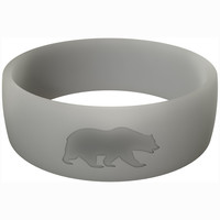 Men's Grey Athletic Ring