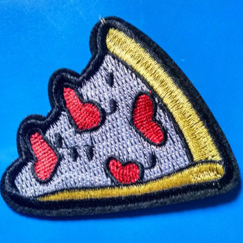 I Heart Pizza Patch