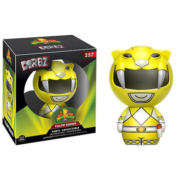 Funko Dorbz: Power Rangers Mighty Morphin 3 inch Vinyl Figure - Yellow Ranger