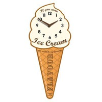 Jones® Ice Cream Flavor Decorative Wall Clock