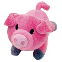 Coastal Lil Pals Plush Pink Pig Puppy Dog Toy
