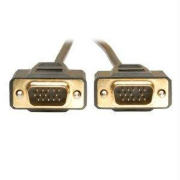 Tripp Lite 6ft Vga Monitor Gold Cable Molded Shielded Hd15 M-m 6feet