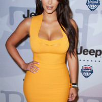 Clothing : Bandage Dresses : 'Lois' Tangerine Mesh Insert Bandage Dress