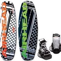 AIRHEAD AHW-3014 Grafitti City Wakeboard with Clutch Bindings