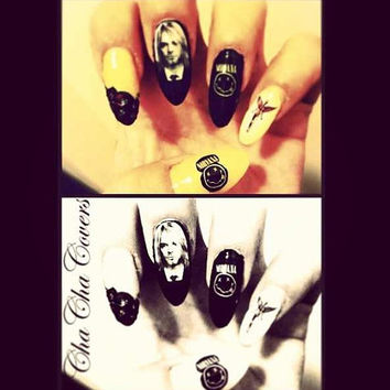 NIRVANA  Nail Decals
