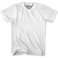 Mile End White Blank T-shirt