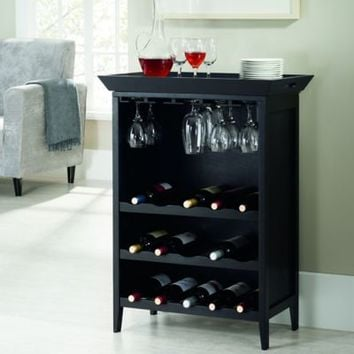 Ampersand® Calistoga Bar and Wine Storage Unit