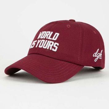 DGK World Is Yours Dad Hat