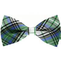 Tok Tok Designs Formal Dog Bow Tie for Medium & Large Dogs (B54, TC Cotton)