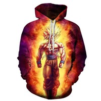 Dragon Ball Z Pocket Hoodies