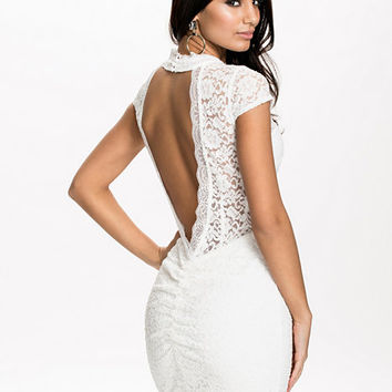 Cap Sleeve Low Back Dress, NLY One