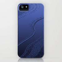 Blue - abstract iPhone Case by Anne Staub | Society6