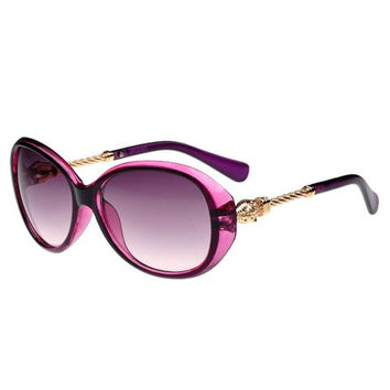 Twill Alloy Design Sunglasses