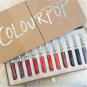 23 Colors Colour Pop Ultra Matte Velvety Liquid Lipstick Long Lasting Lip Gloss [8802165324]