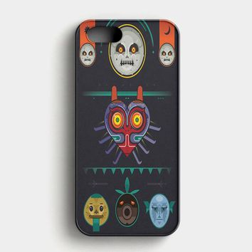 Moon The Legend Of Zelda Majora iPhone SE Case