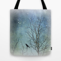A Winter's Tale Tote Bag by Ally Coxon