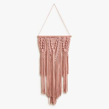 Blush Crochet Wall Hanging