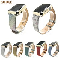 DAHASE 7 Colors Bling Glitter PU Leather Wrist Strap For Apple Watch Band For iWatch Series 1 2 Replacement Wristband 42mm 38mm