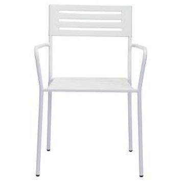 Zuo Wald Dining Arm Chair - White : Target