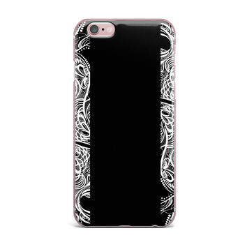 "Maria Bazarova ""Lines"" Vector Art Deco iPhone Case"