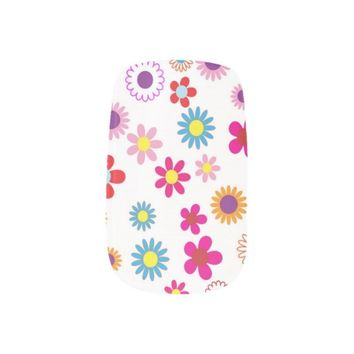 beautiful flowers pattern minx® nail wraps
