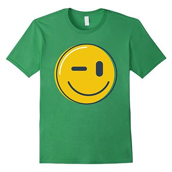 Wink Face Smile Emoji Shirt