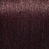 "21"" Clip In Remy Hair Extensions: Red No. 99"