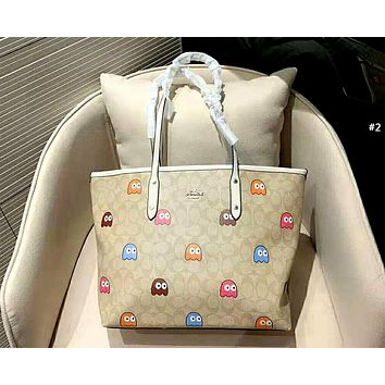 COACH 2019 new female personality personality wild shopping bag handbag shoulder bag Messenger bag #2