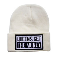 Queens Get the Money Beanie