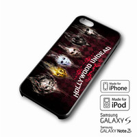 Hollywood Undead Band iPhone case 4/4s, 5S, 5C, 6, 6 +, Samsung Galaxy case S3, S4, S5, Galaxy Note Case 2,3,4, iPod Touch case 4th, 5th, HTC One Case M7/M8