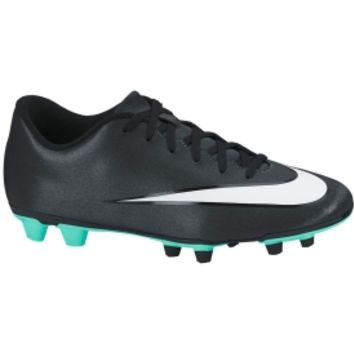 Nike Kids' Vortex II CR7 FG-R Soccer Cleat - Black/White | DICK'S Sporting Goods