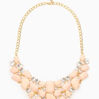 ShopSosie Style : Sheron Necklace in Peach