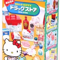 Hello Kitty Drug Store Re-Ment miniature blind box - Re-Ment Miniature