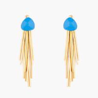 BLUE MENDOZA EARRINGS