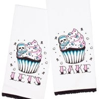 Lets Bake Tea Towel Set