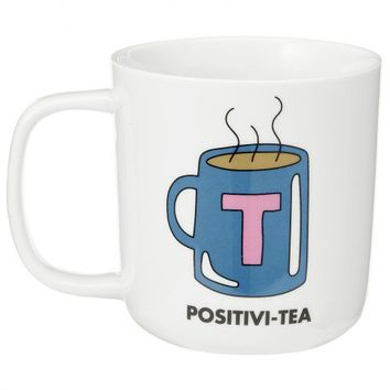 Positivi-tea fine porcelain mug - All Christmas Gifts - Christmas Gifts - Christmas Shop