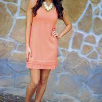 RESTOCK Let's Watch The Sunset Dress: Coral | Hope's