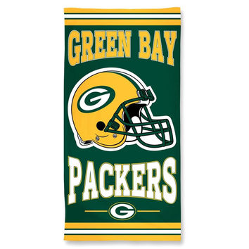 Green Bay Packers NFL Beach Towel (30x60)