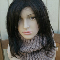 Ready to Ship -  Cowl - Infinity Scarf - The Everyday Cowl in Toasted Almond