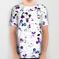 Magic Mouse All Over Print Shirt by VinceGabriel
