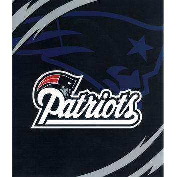 New England Patriots Queen NFL Blanket - Free Shipping in the Continental US!