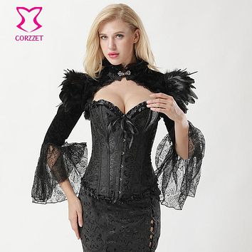 Women's Gothic Collar and Shoulder Jacket