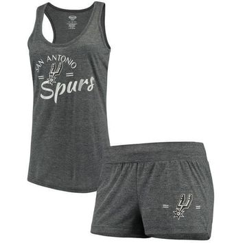 Women's Spurs Tank Top & Shorts 2 For 1