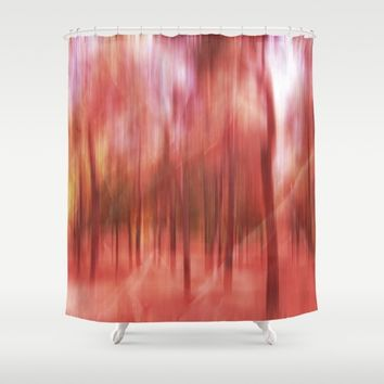 initiation (back to unnatural) Shower Curtain by Federico Faggion