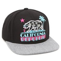 96caecd82a Riot Society Cali Republic Snapback Hat - Mens Backpack - Black - One