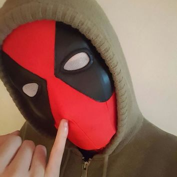 Avengers Deadpool for Women Men Kids Classic Halloween Head Hood Costume Fetish Deadpool Superhero Zentai Suits Free Shipping