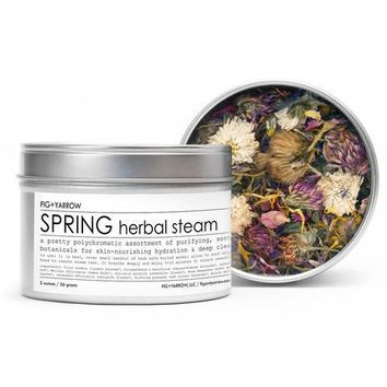 Herbal Steam (Spring)