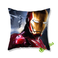 Iron Man 3 Square Pillow Cover